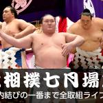 大相撲ガイド2017|名古屋場所のテレビ中継一覧とネット放送【無料】で見る方法